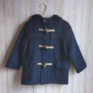 babyGap Toddler Wool Blend Toggle Coat NWT